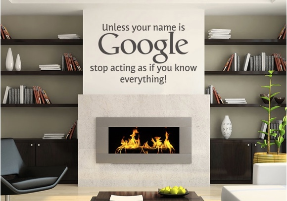 Unless your name is Google