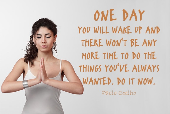 One day you will ...