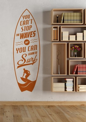 You can´t stop the waves