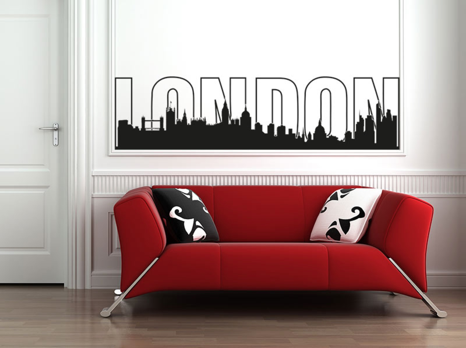 wandtattoo shop skylines. Black Bedroom Furniture Sets. Home Design Ideas