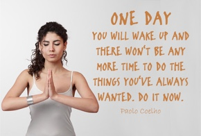 one day you will wake up