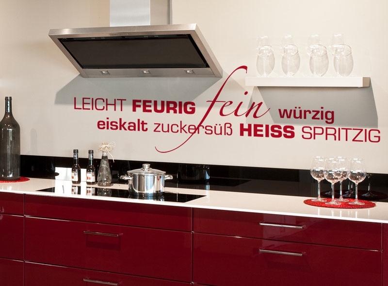 Küchentattoos  Wandtattoo Shop Küche