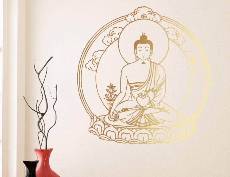 wandtattoo shop indien und spiritualit t mandalas spirituelle symbole buddhafiguren. Black Bedroom Furniture Sets. Home Design Ideas